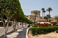 萨拉丁城堡城楼在开罗 图库摄影