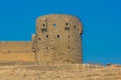萨拉丁城堡塔在开罗 库存图片