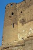 萨拉丁城堡塔 免版税库存图片