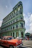 萨拉托加旅馆在哈瓦那,古巴 免版税库存图片