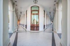 萨拉托加旅馆外部在哈瓦那 库存图片