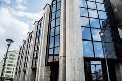 萨拉托夫建筑学 免版税库存照片
