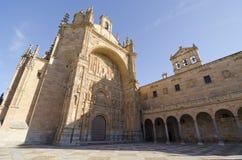 萨拉曼卡。 圣Esteban的女修道院 免版税库存图片
