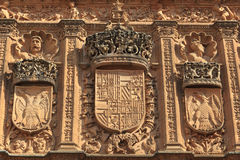 萨拉曼卡大学 免版税库存图片