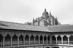 萨拉曼卡大教堂 库存图片