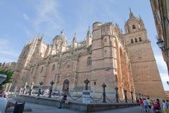 萨拉曼卡新的Chatedral  免版税库存照片