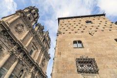 萨拉曼卡,卡斯蒂利亚利昂,西班牙 免版税图库摄影