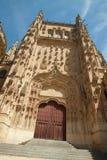 萨拉曼卡-大教堂 免版税库存图片