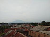 萨拉火山 库存图片
