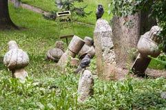 萨拉热窝公墓 免版税库存照片