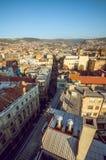 萨拉热窝都市风景 库存图片