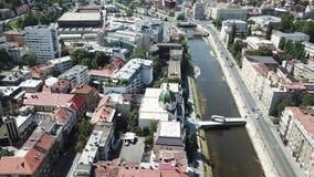 萨拉热窝-老镇 免版税库存图片