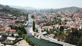 萨拉热窝-老镇 免版税图库摄影