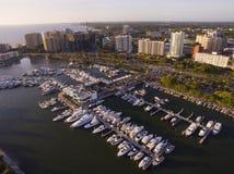 萨拉索塔, FL海岸 免版税库存图片