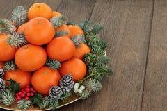 萨摩烧橘子果子 免版税库存图片