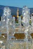 萨格勒布大教堂,克罗地亚 免版税图库摄影