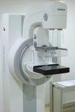 萨格勒布,克罗地亚- 2017年6月14日:在诊所的乳房X线照片机器, 免版税库存图片