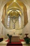 萨格勒布-圣马克` s教会 库存图片