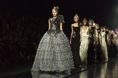 萨格勒布FashionWeek 图库摄影