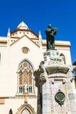 萨格拉多Corazon德赫苏斯住所在特鲁埃尔省 免版税库存照片