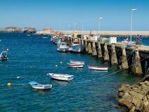 萨格里什,阿尔加威小游艇船坞  葡萄牙 图库摄影