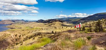 萨沃纳坎卢普斯不列颠哥伦比亚省加拿大 图库摄影