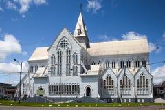 萨瑟克圣乔治主教座堂看法  免版税库存图片