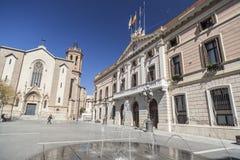 萨瓦德尔,卡塔龙尼亚,西班牙 免版税库存图片
