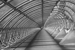 萨瓦格萨-第三座千年桥梁-普恩特del Tercer Milenio 库存图片