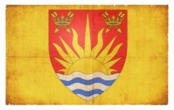 萨福克大英国的难看的东西旗子 库存图片