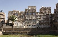 萨纳也门 库存图片