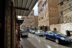 萨纳也门 免版税图库摄影