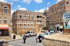 萨纳也门 库存照片
