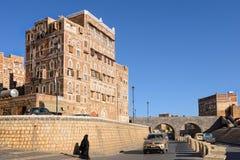 萨纳,也门 免版税库存照片