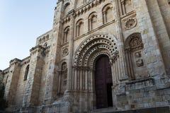 萨莫拉,大教堂 免版税图库摄影