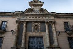 萨莫拉,主教管区 免版税库存照片