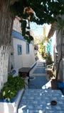 萨莫斯岛希腊 免版税库存照片