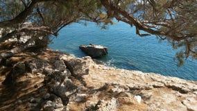 萨莫斯岛希腊 免版税图库摄影