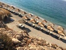 萨莫斯岛海岛,希腊 免版税库存照片