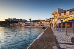 萨莫斯岛海岛 免版税库存照片