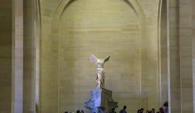 萨莫色雷斯岛,天窗,巴黎,法国胜利  库存图片
