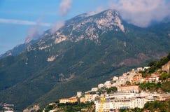 萨莱诺,意大利 免版税库存照片