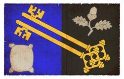 萨里大英国难看的东西旗子  库存照片
