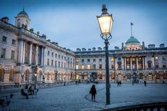 萨默塞特议院伦敦 免版税库存照片