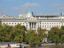 萨默塞特议院,伦敦 免版税图库摄影