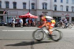 萨默维尔自行车种族游览2013年 库存图片