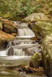 落下的瀑布,弗吉尼亚,美国 免版税图库摄影