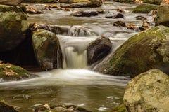 落下的瀑布,弗吉尼亚,美国 免版税库存图片