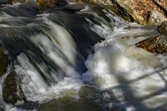 落下的瀑布,弗吉尼亚,美国 免版税库存照片