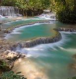 落下的瀑布Skradinski Buk 克罗地亚krka国家公园 免版税库存照片